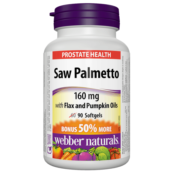 Saw Palmetto With Flax And Pumpkin...