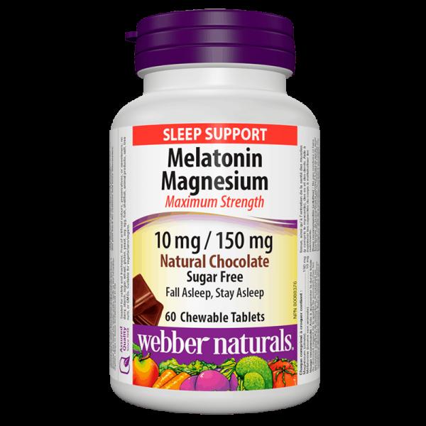 Melatonin + Magnesium / Мелатонин 10...