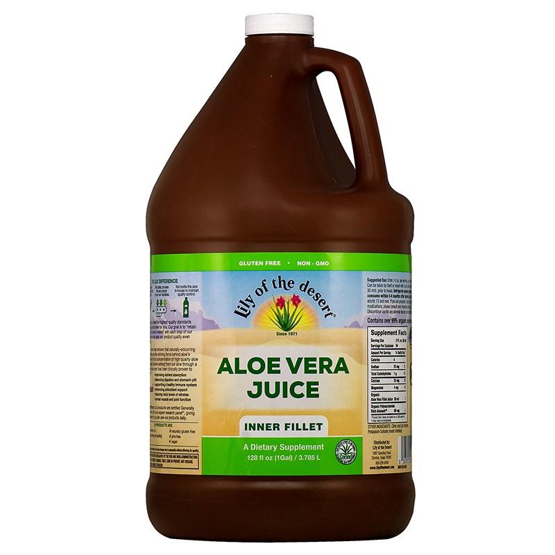 Aloe Vera Juice Lily of the desert®/ Алое Вера сок, 3.78 L