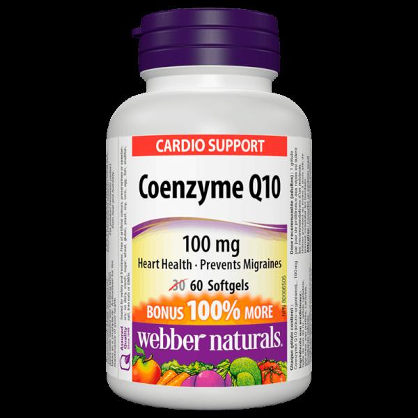 Coenzyme Q10 / Коензим Q10, 100 mg,...