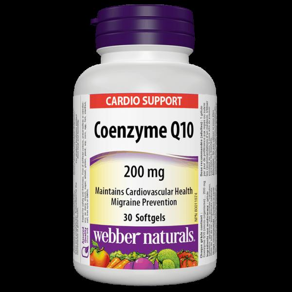 Coenzyme Q10 / Коензим Q10, 200 mg,...