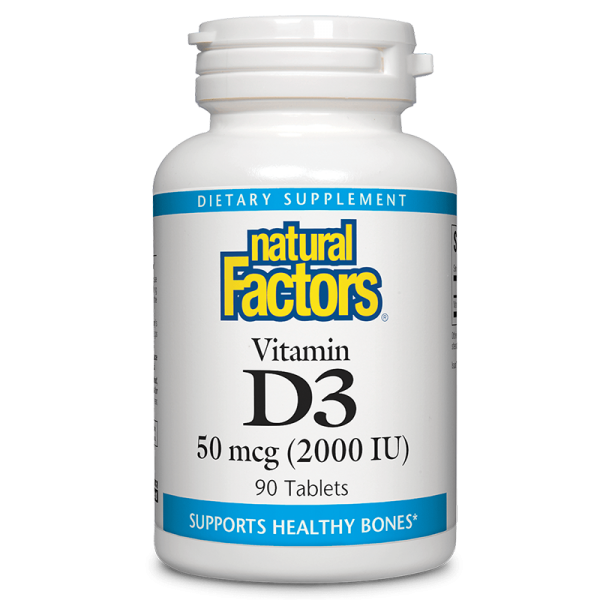 Vitamin D3 / Витамин D3, 2000 IU, 90...