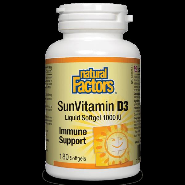 SunVitamin D3 / Витамин D3 1000 IU,...