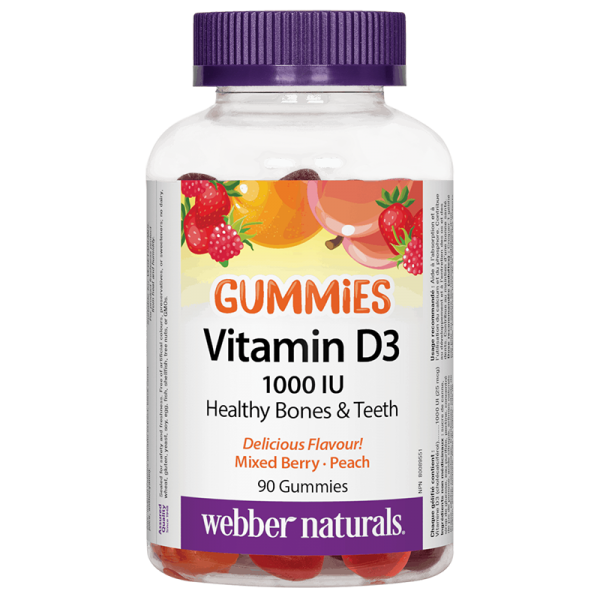 Vitamin D3 Gummies / Витамин D3, 1000...