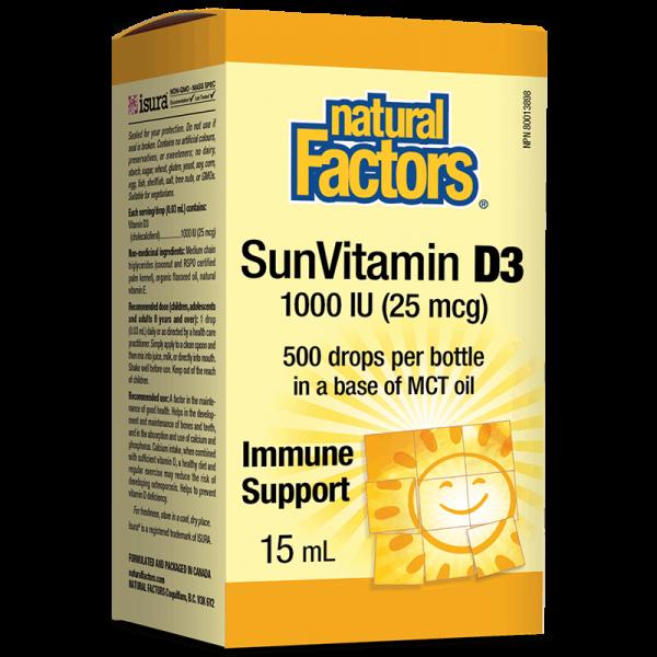 Vitamin D3/ Витамин D3 1000 IU x 15...