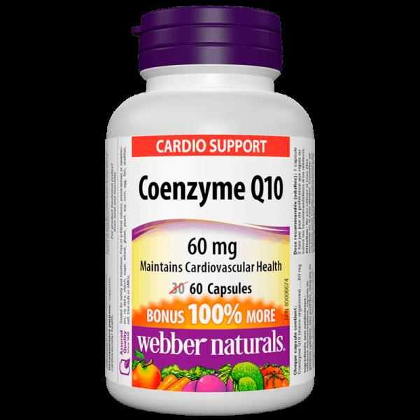 Coenzyme Q10 / Коензим Q10, 60 mg, 60...