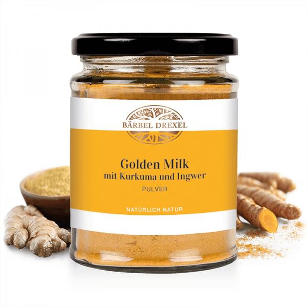 Golden Milk mit Kurkuma und Ingwer...