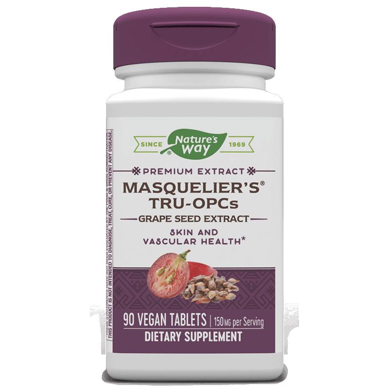 Masquelier\'s® Tru-OPCs™ Grape Seed Extract / Екстракт от гроздово семе, 90 таблетки