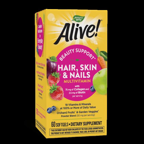 Alive! Hair, Skin & Nails...