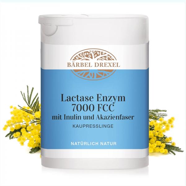 Lactase Enzym 7000 FCC mit Inulin und...