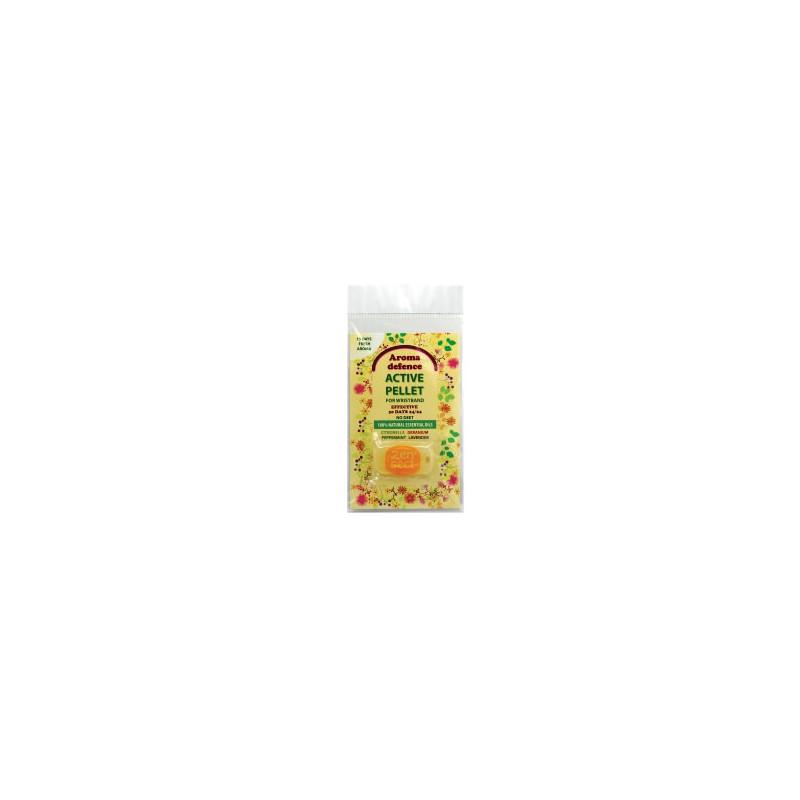 Пълнител за гривна с аромат на цитронела, лавандула, здравец и мента  - 1