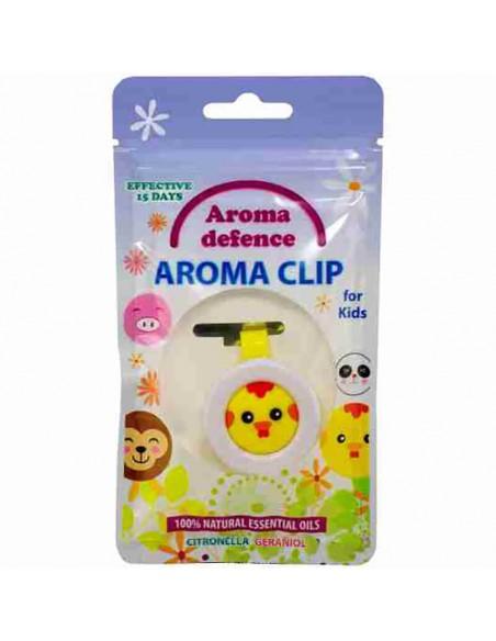 "Клипс ""Aroma Defence"" за деца /с аромат на цитронела и здравец/  - 1"