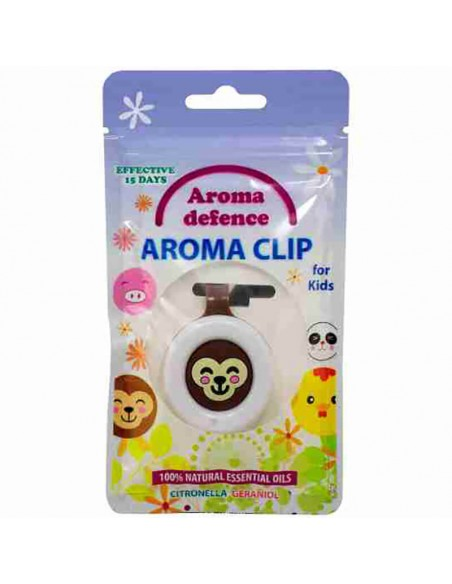 "Клипс ""Aroma Defence"" за деца /с аромат на цитронела и здравец/  - 2"