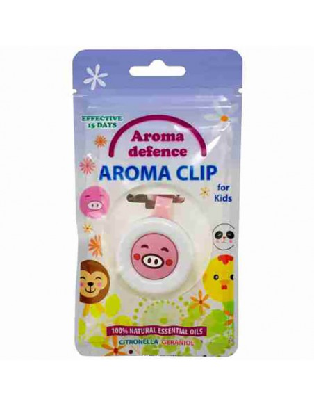 "Клипс ""Aroma Defence"" за деца /с аромат на цитронела и здравец/  - 4"