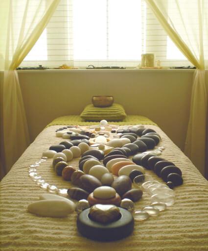 терапия с камъни