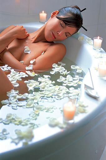 вана с аромати у дома
