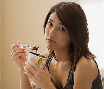 При депресията храната е важна