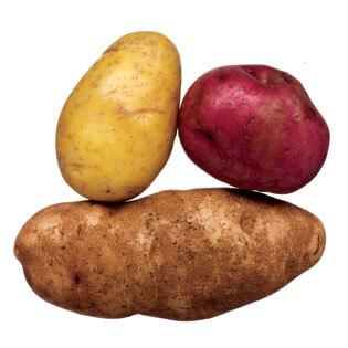 Картофите понижават кръвното налягане