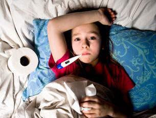 Защитете детето от грип