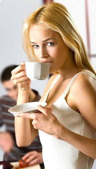 Пийте кафе за щастие