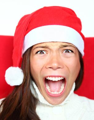 Когато Коледа може да ви побърка
