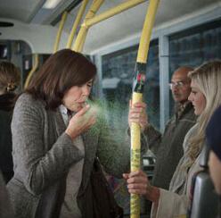 Спрете грипните вируси в автобуса