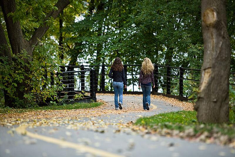 Преборете депресията с разходка в парка