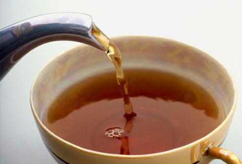 Чай от листа на кафе
