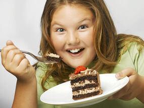 Наднорменото тегло в детството остава завинаги