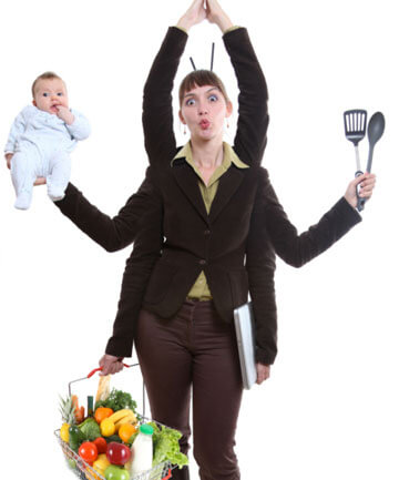 Професия жена – живот на бързи обороти