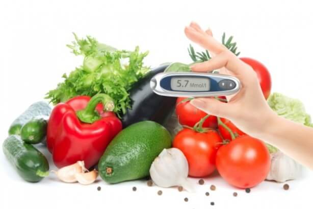 хранене и диабет
