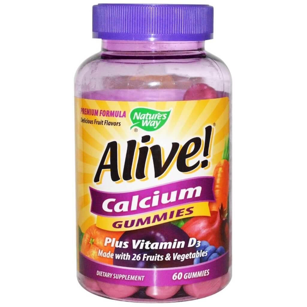 Алайв! / Alive! калций + витамин D3