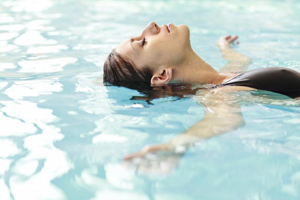 упражнения във вода