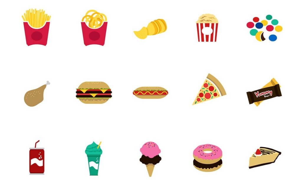 бързи храни, джънк фууд, бързи въглехидрати