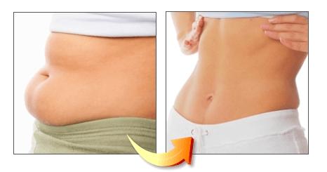 lose tummy fat
