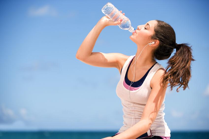 Консумация на повече течности през лятото
