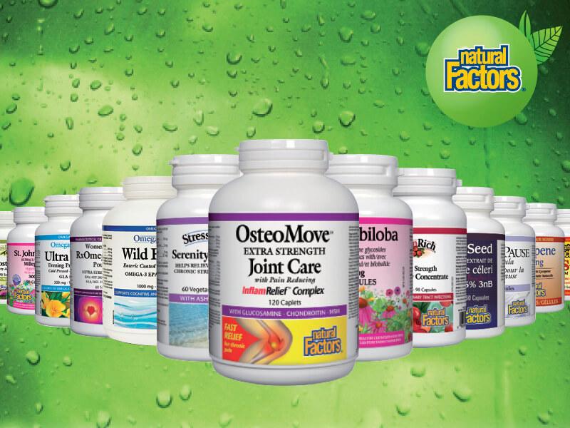 Natural Factors продукти